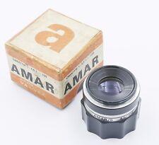 AMAR/S 4.5/105 PZO Poland SUPER MACRO Lens M42 Enlarger Exc!!!