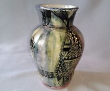 Ceramic vase made by students from lycée technique nabeul