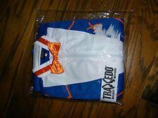 Men's Traxedo Tuxedo Blue White and Orange Track Suit NWT Size S