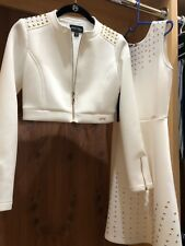 marciano dress,  White color,size 12 girls,with jacket new with tag