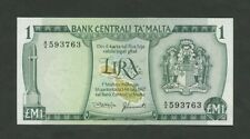 More details for malta  £m1  1967  p31d  uncirculated  banknotes