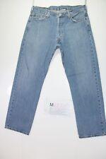 Levi's 501 Regular fit (Cod. M1732) tg50 W36 L30  jeans usato vintage.