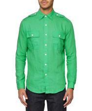 Ralph Lauren Linen Fitted Casual Shirts & Tops for Men
