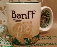Starbucks Coffee Mug/Tasse/Becher BANFF/Canada, Global Icon, NEU mit Sticker!!!