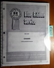 Ih International Harvester I-544 544 2544 Tractor Chassis Manual Gss-1394 2/69