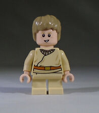 Lego Star Wars Minifig: young child Anakin Skywalker with Short Legs, Dual Faces