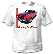 CHEVROLET CAMARO 1969 INSPIRED 11 - NEW GRAPHIC TSHIRT S-M-L-XL-XXL
