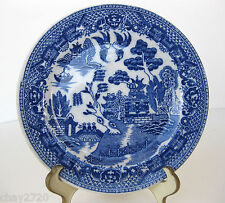 VINTAGE OLD WILLOW BREAD PLATE 6 INCHES MADE IN JAPAN