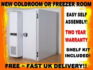 ME1414F WALK IN FREEZER ROOM & MONOBLOCK INC DELIVERY WE CAN BUILD ANY SIZE TOO!