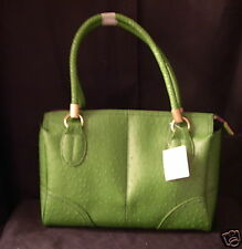 Liz Claiborne Purse Handbag #315 Grasshopper Green NEW Faux Leather Sachel