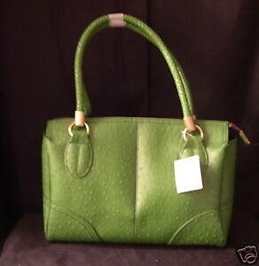 Liz Claiborne Purse Handbag #315 Grasshopper Green NEW Faux Leather Sachel