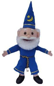 """Puppet wizard 15"""" Ventriloquist.Play,Tell storys,Educational.Moving mouth &hands"""
