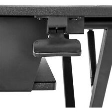 Startech Sit Stand Desk Converter Large 35In Work Surface Adjustable Stand