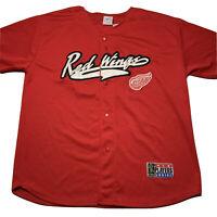 Vintage Sport Attack Men's XL Steve Yzerman Detroit Red Wings Stitched Jersey 19