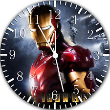 """Ironman wall Clock 10"""" will be nice Gift and Room wall Decor Y23"""