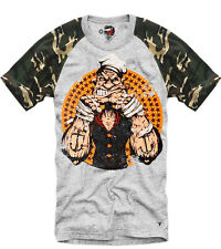 E1SYNDICATE T SHIRT POPEYE PARIS HYPEBEAST WTAPS ELEVEN MMA WEED DOPE 2971 CAMO