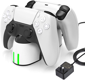 Charging Station for PS5, Fast Charging PS5 Controller Charger Station with LED