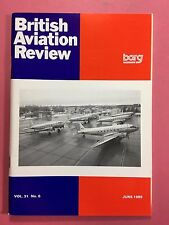 BRITISH AVIATION REVIEW - Profile Journal of Aircraft Research - Vol.31 #6 1989