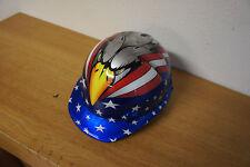 NEW NOS Jackson Safety Hard Hat Helmet* w/ USA Flag & Eagle