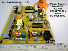 LG - 50LS4000 Power Supply Board PN: EAX64648101 (1.9) LG PN: EAY62769901