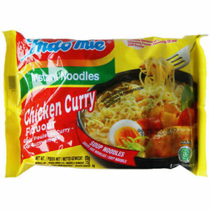 INDOMIE  CHICKEN CURRY  NOODLES 40 PACKETS