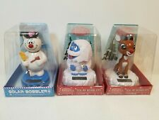New Rudolph, Abominable Snowman Monster, Frosty The Snowman Bobble Head