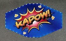 IGT Slot Machine Polygon Topper Insert KAPOW!