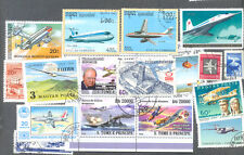 Aviation 300 all different stamps collection-all types Air transport