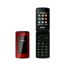 SAIET TELEFONO PER ANZIANI LIKE ST-MC20 ROSSO FOTOCAMERA E RADIO FM