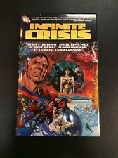 INFINITE CRISIS HC SUPERMAN BATMAN WONDER WOMAN GEOFF JOHNS OOP MINT DC Comics