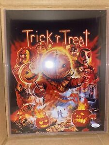 Trick 'r Treat Sam Quinn Lord Autograph Signed 11x14 Art Print -  JSA COA