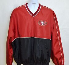 SF 49ers pullover Large red black NFL