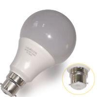 6 x 9W LED B22 Bayonet Light Bulb Cool White 810 Lumen LED Light Vintage Lights