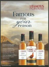 THE FAMOUS GROUSE -  The Famous Vassilis - Scotch Whisky 2017 Print Ad