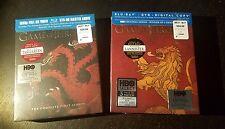 Game of Thrones Season 1 & 2 Blu-ray (BEST BUY Exclusive Sigil Packaging)