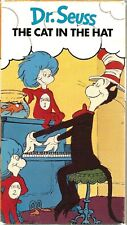 Dr. Seuss - The Cat in the Hat VHS 1989 Playhouse Video CBS/FOX Animated Vintage