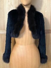 La Perla Fur Bolero - Jacket UK12 Worn Once