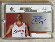 2003-04 SP Authentic Basketball Carlos Boozer Authentic Signatures Auto Card