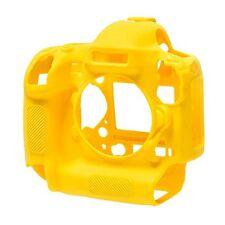 Easy Cover Nikon D4S Macchina Fotografica Cover protettiva in silicone giallo