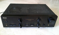 Stereo integrated amplifier TEAC A-X1000, 1991, working