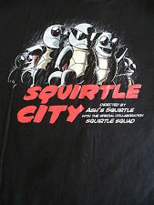 SALE T-Shirt - Squirtle City - Pokemon / Sin City Crossover