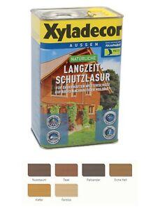 Xyladecor natürliche Langzeitschutzlasur 4L Farbwahl BEULE Holzlasur