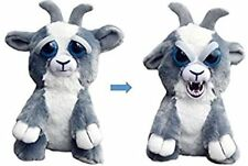 "Junkyard Jeff Feisty Pets Stuffed Goat Adorable Plush Squeeze 8"" Animal Kids Toy"