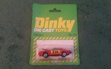 DINKY CHEVROLET CAMARO Z28 No 115 RED MINT HONG KONG + OPENED BLISTER PACK 1980