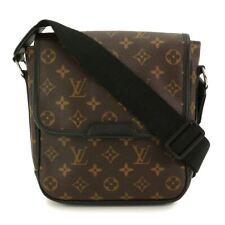 LOUIS VUITTON Monogram Macassar Bus PM Shoulder Bag Brown M56717 90100721