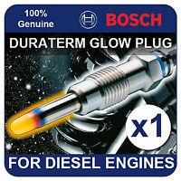 GLP001 BOSCH GLOW PLUG JEEP Cherokee 2.5 Diesel Turbo 95-96 [XJ] 113-119bhp