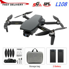 Foldable GPS FPV Drone 4K HD 1080P Camera 5G WIFI Brushless Selfie RC Quadcopter