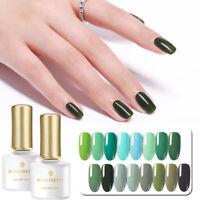 BORN PRETTY Grüne Farben Nagel Gellack Soak Off UV Gel Lacke Maniküre 6ml
