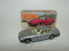 Matchbox Superfast No 67 Datsun 260-Z 2+2 Silver YELLOW Seats GREY BASE MIB RARE