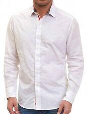Robert Graham Carmen Valley White Linen Sport Shirt (XL) $268